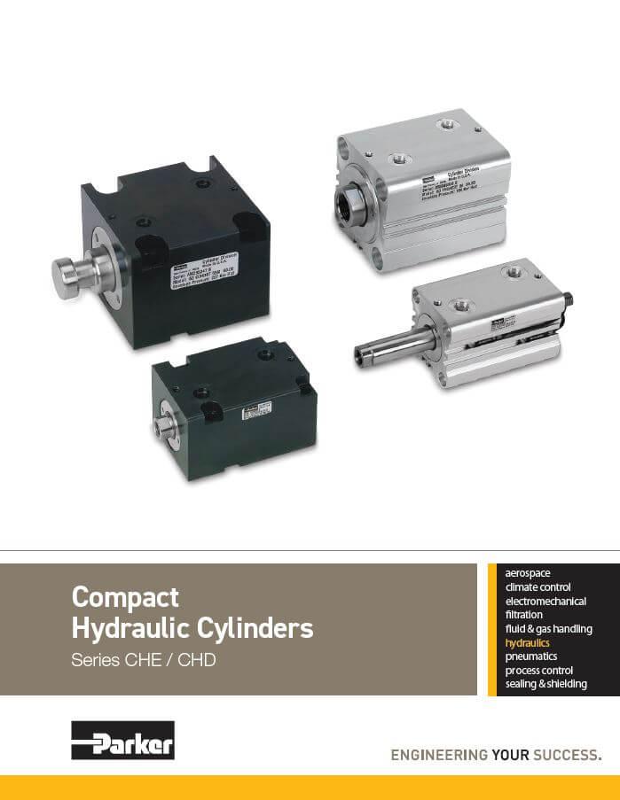 Compact Hydraulic Cylinders Che Chd