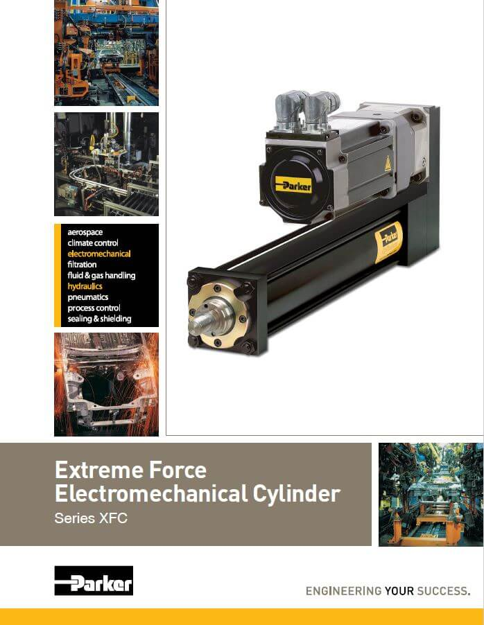 Extreme Force Electromechanical Cylinder