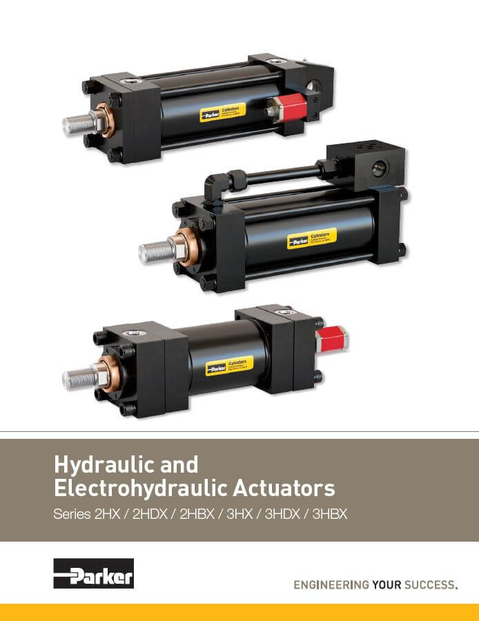 Hydraulic Electrohydraulic Actuators