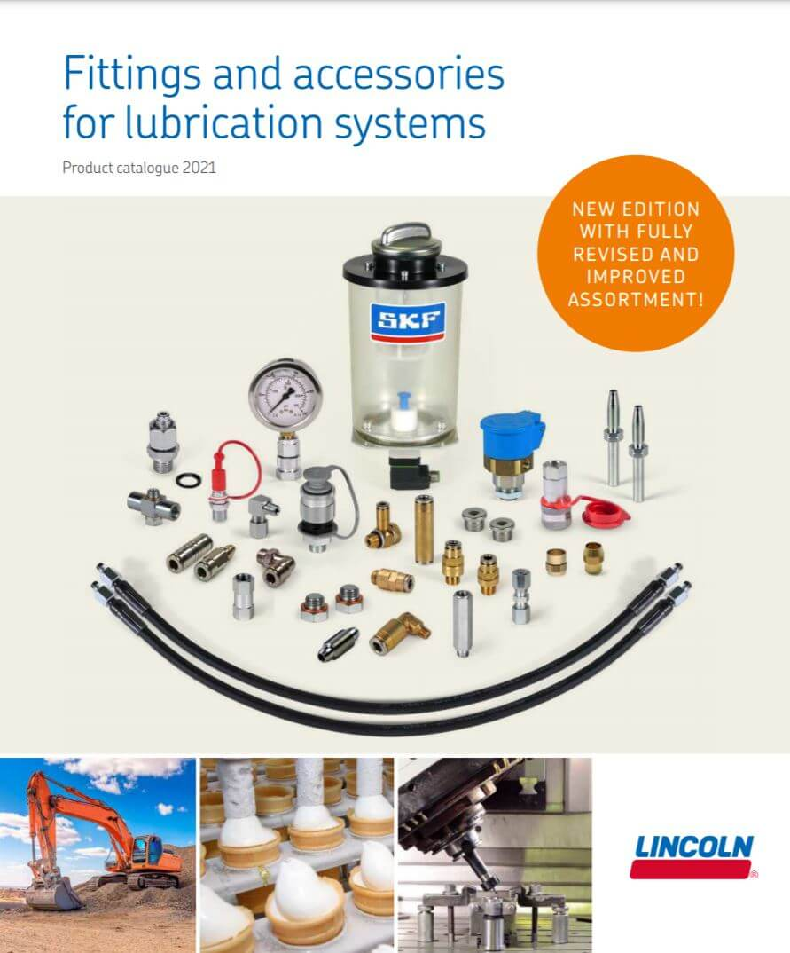 Skf Fittings Accessorites Lube Systems