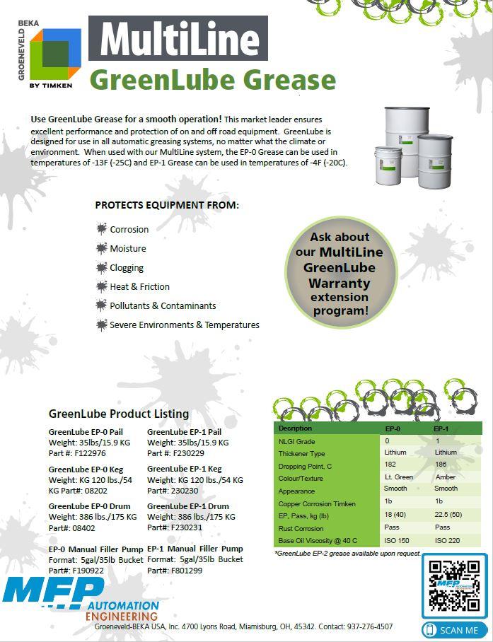 Greenlube Grease Multiline