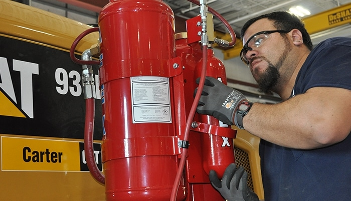 Afex Fire Suppression System